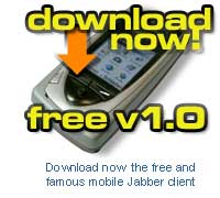 Download now the free mobile Jabber client
